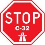 Logotip Aturem la C-32