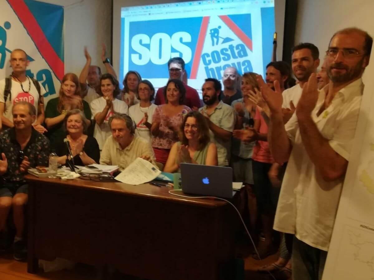 Presentació de SOS COSTA BRAVA
